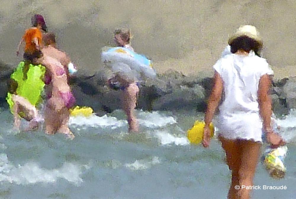 Jeunes filles à la mer