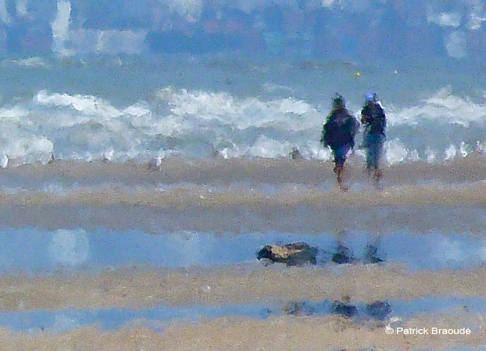 Deux au bord de l'eau
