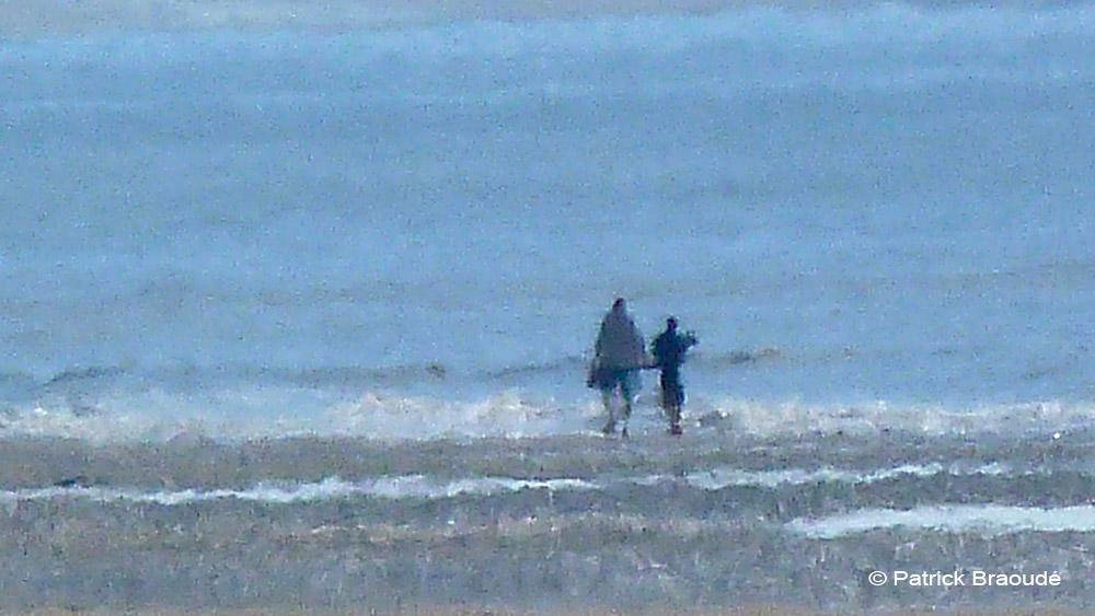 Monsieur et Madame à la mer