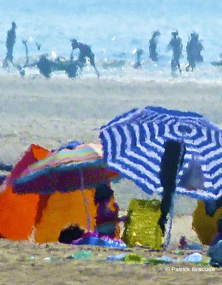 La tente orange