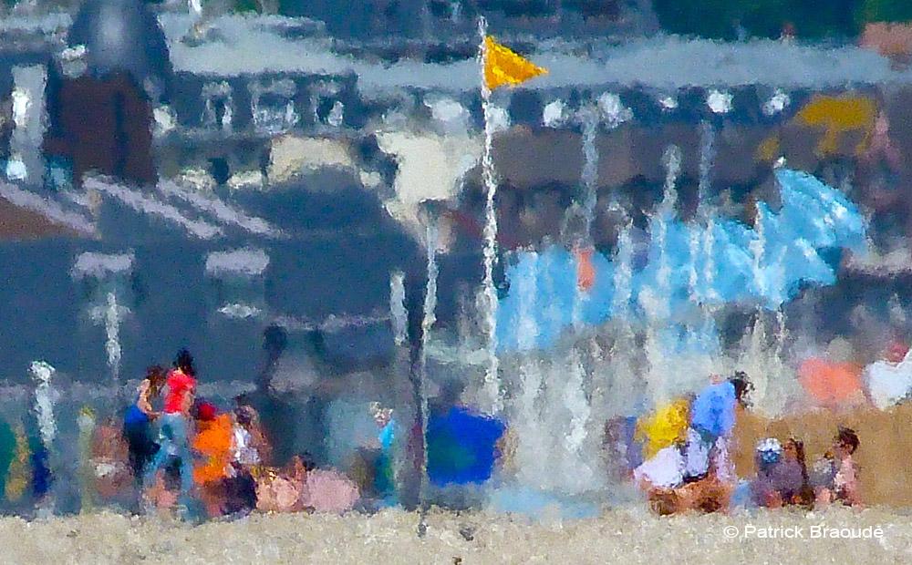 Les drapeaux de Deauville