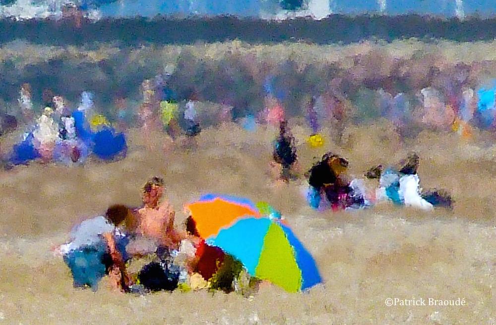 le parasol 4 couleurs